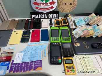 Homem é preso em Itapipoca suspeito de lavagem de dinheiro; Polícia apreende R$ 2,6 milhões - O POVO
