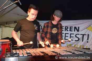 Loop Percussion Duo speelt een thuismatch (Ham) - Het Nieuwsblad