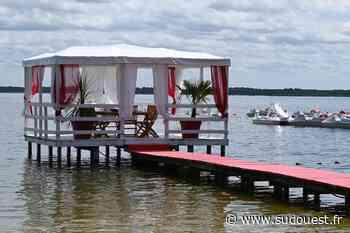 L'Idylle Café à Biscarrosse : avec vue sur le lac et les pieds dans le sable - Sud Ouest