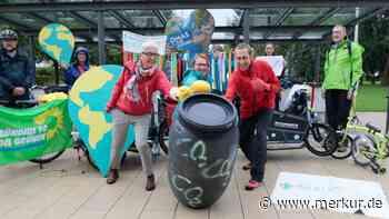 Zeichen setzen mit Lastenrad und Tonne - Merkur.de