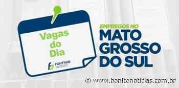 Funtrab oferece cinco vagas de emprego em Guia Lopes da Laguna; confira - Bonito Notícias