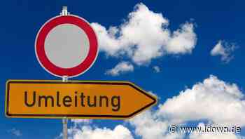 Lärmschutzwand wird gebaut - Deggendorfer Straße in Plattling drei Nächte lang gesperrt - idowa