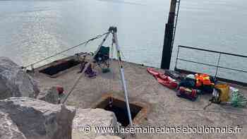 Boulogne-sur-Mer : un homme secouru après être tombé dans un trou profond de cinq mètres - La Semaine dans le Boulonnais