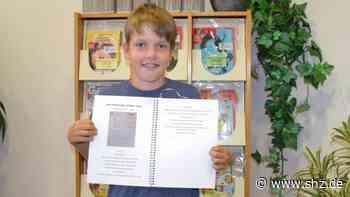 10-Jähriger aus Quickborn: Jonathan Schaar schafft es mit Soßen-Rezept in Kochbuch   shz.de - shz.de