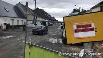 En travaux, la route entre Chauny et Ognes est barrée pour éviter les incivilités - L'Aisne Nouvelle