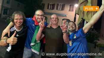 """So feiert der Landkreis Dillingen die """"Squadra Azzurra"""" - Augsburger Allgemeine"""
