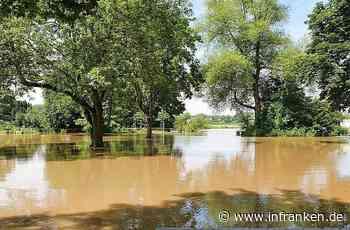Erlangen: Insel Wöhrmühle komplett überschwemmt - Großes Open-Air-Festival muss verlegt werden