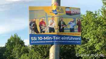 S-Bahn Berlin S5: Zehn-Minuten-Takt zwischen Neuenhagen und Strausberg auch ohne zweites Gleis möglich? - moz.de