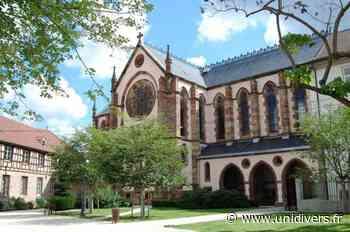 Découvrez les voûtes polychromes féeriques de la chapelle Chapelle Notre-Dame samedi 18 septembre 2021 - Unidivers