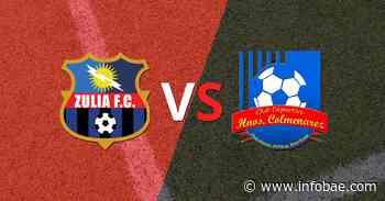 Zulia y Hermanos Colmenarez igualaron 2 a 2 - infobae