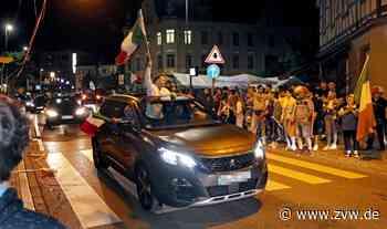 Italien siegt im EM-Finale: Autokorso mit 80 Fahrzeugen auch in Schorndorf - Schorndorf - Zeitungsverlag Waiblingen - Zeitungsverlag Waiblingen