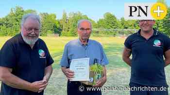 Wolfgang Werner ist Ehrenmitglied im Sportverein Lengede - Peiner Nachrichten