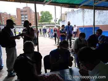 Suspendenvacunación en Polideportivo de Maturín ante aumento de casos de COVID-19 - Efecto Cocuyo