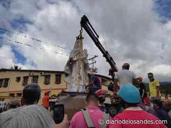 De casi seis metros es el monumento Virgen del Carmen de Boconó - Diario de Los Andes
