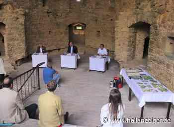 Präsentation archäologischer Funde aus der Burg Querfurt - H@llAnzeiger