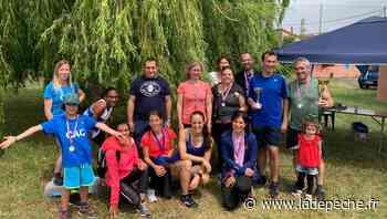 Première fin de saison pour le club d'athlétisme de Castelginest - ladepeche.fr