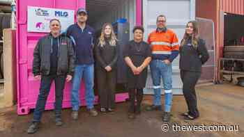 GWhCC in the pink with Kalgoorlie hose support - The West Australian