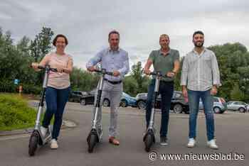 Kuurne breidt aanbod deelmobiliteit uit met elektrische step... (Kuurne) - Het Nieuwsblad