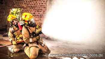 Brand in Bad Wildbad - Schutzhütte in Flammen - durch Feuer von Besuchern? - Schwarzwälder Bote