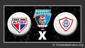 Assistir Bahia de Feira x Itabaiana AO VIVO pela Série D - Futebol Bahiano