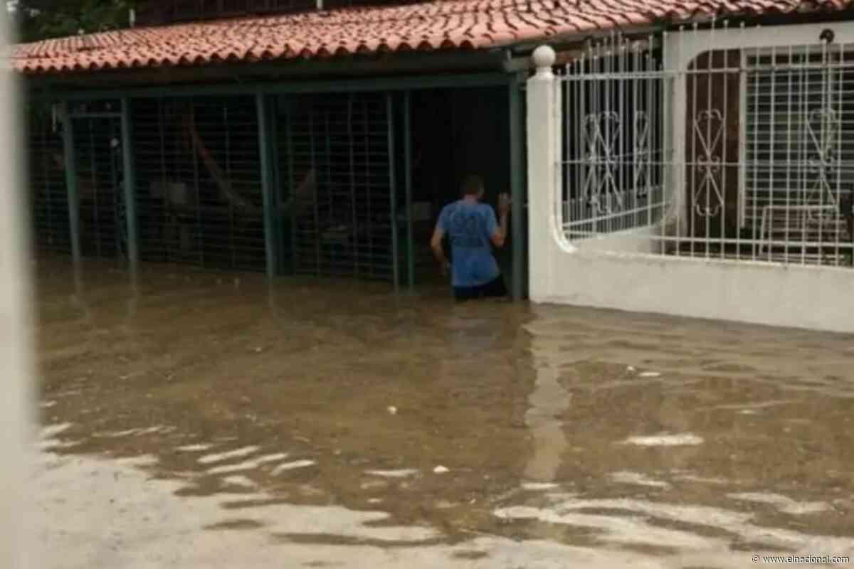 Inundación total en Cabudare: fuertes lluvias desencadenaron un caos este 9 de julio - El Nacional