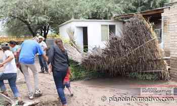 Inundaciones afectan a 25 familias en Cerritos - Plano informativo