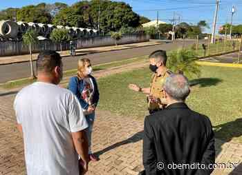 Após onda de furtos em Cruzeiro do Oeste, prefeita pedirá volta de delegado para a cidade - OBemdito