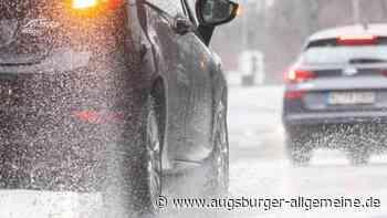 Aquaplaning: Autofahrer gerät auf B2 bei Gersthofen ins Schleudern - Augsburger Allgemeine