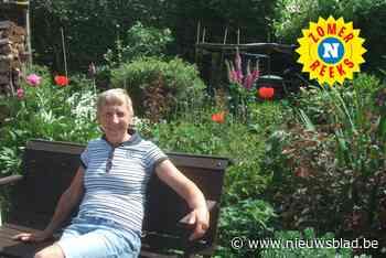 """Ludwine is dol op haar tuintje: """"Zelfs op reis in het buitenland speuren we altijd naar wat groen dat we kunnen meebrengen"""""""
