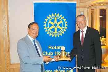 Achim Frohss an der Spitze der Rotarier - Westfalen-Blatt