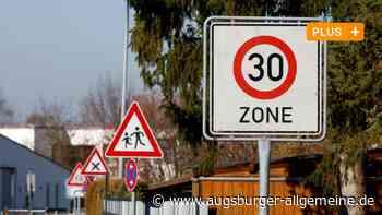 Beschwerden von Anwohnern: Weg in Biberach wird zur Tempo-30-Zone - Augsburger Allgemeine