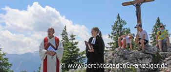 Ökumenischer Berggottesdienst mit Bläserensemble am Predigtstuhl - Berchtesgadener Anzeiger