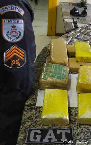 Polícia prende homem com mais de 8kg de maconha em Araruama - O Dia