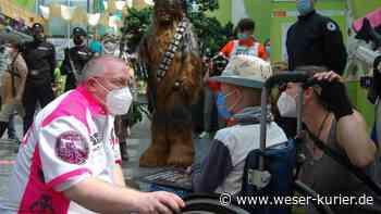 Star Wars-Fans erfüllen krebskrankem Justus aus Stuhr großen Wunsch - WESER-KURIER - WESER-KURIER