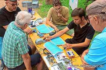 Furtwangen: Viele Besucher feiern Doppeljubiläum mit den Funkamateuren - SÜDKURIER Online