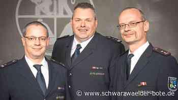 Vöhrenbacher Feuerwehr zieht Bilanz - Den Kommandanten bestätigt - Schwarzwälder Bote