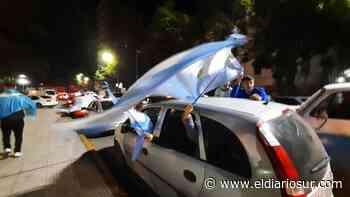 Cientos de hinchas festejaron la Copa América en Monte Grande - El Diario Sur