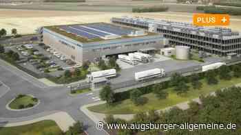 Bis April 2022 will Amazon in Giengen mit dem neuen Zentrum fertig sein - Augsburger Allgemeine
