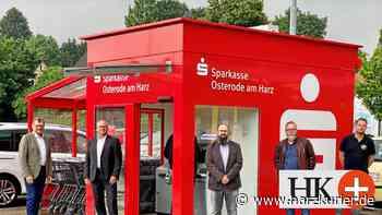 Sparkasse Osterode am Harz eröffnet SB-Würfel in Teichhütte - HarzKurier