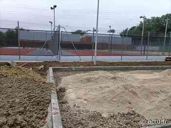 Val-d'Oise. Pontoise : le nouveau complexe de tennis sort de terre - actu.fr
