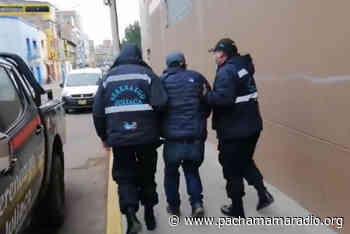 Comerciantes de jirón Moquegua capturaron a presunto delincuente en Juliaca - Pachamama radio 850 AM