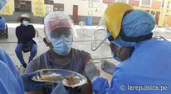 COVID-19: inició vacunación de mayores de 50 años en Moquegua - LaRepública.pe