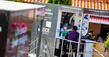 Instalan cabinas diagnóstico de COVID-19 en Santiago Nonualco, La Paz - Solo Noticias