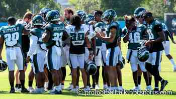 Eagles will practice with Patriots, Jets in August