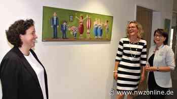 Bilder von Tina Conrads: Kunstausstellung in Edewecht: Bilder im Rathaus strahlen Leichtigkeit und Lebenslust aus - Nordwest-Zeitung