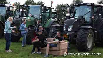Treckerdisco in Westerscheps: Wenn 200 Traktoren auf den Festplatz rollen - Nordwest-Zeitung
