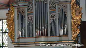 7000 Euro für Orgel-Sanierung - Wetterauer Zeitung