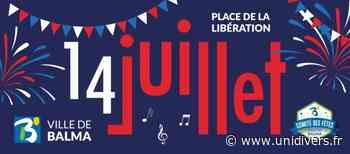 Fête du 14 juillet Place de la Libération mercredi 14 juillet 2021 - Unidivers