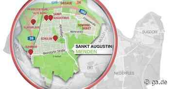 Stadtteilporträt Sankt Augustin Menden: Von den Kindern geliebtes Wahrzeichen: der Esel im Zentrum von Menden - General-Anzeiger Bonn