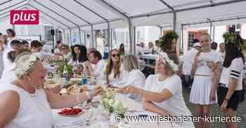 """""""Dinner in White"""" in Idstein. - Wiesbadener Kurier"""